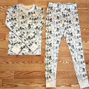 L.L.Bean long John pajamas